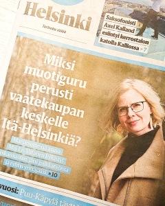 Miksi muotiguru perusti vaatekaupan keskelle itä-Helsinkiä. Yrittäjä Maj-Lis Viitanen